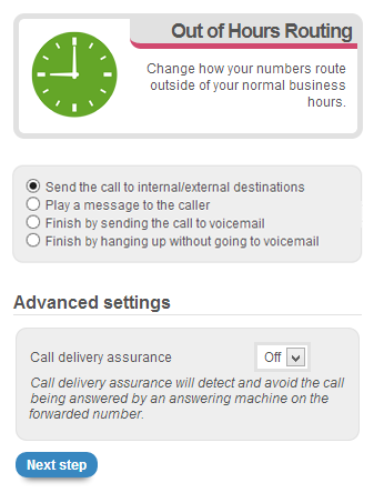 1.Call Delivery Assurance